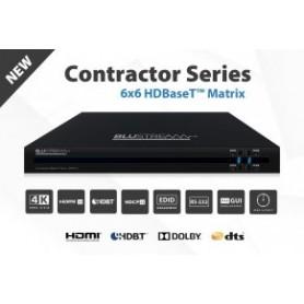 Matriz HDBaseT HDMI 8 x 8 4K PoH de 70 m