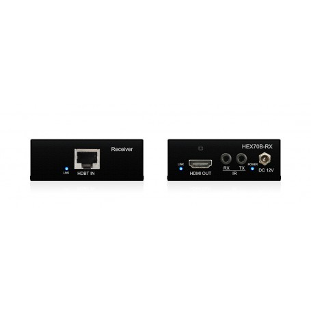 Récepteur HDBaseT 70m HD / 40m 4K / PoH