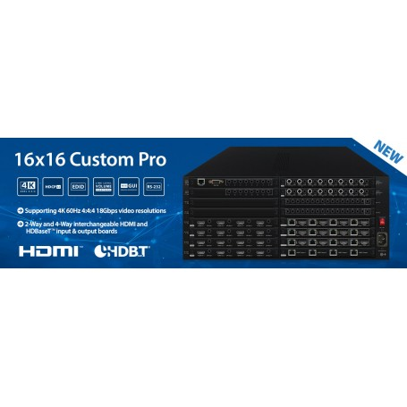 HDMI-HDBaseT 6x6 4K PoH matrix