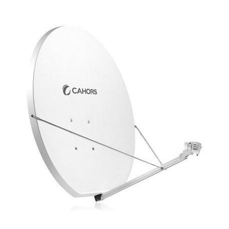 Antenne satellite parabole en fibre 120 cm