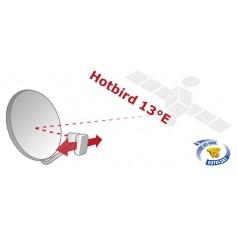 Hot-bird - antenna Satellite, satellite dish to receive Hot-bird