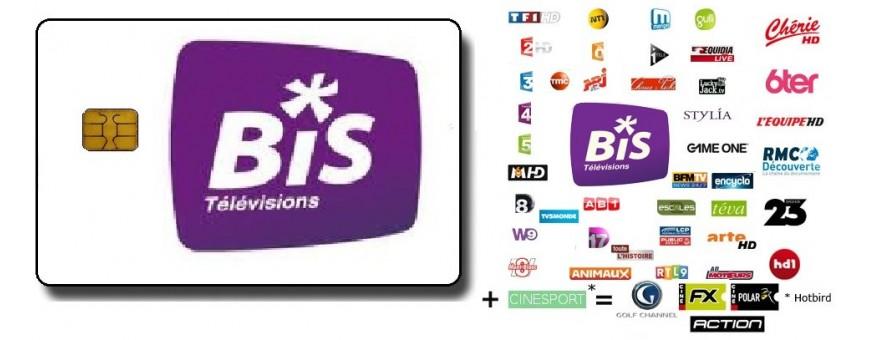 Decodeur Compatible Bis television, abbis, Bis tv